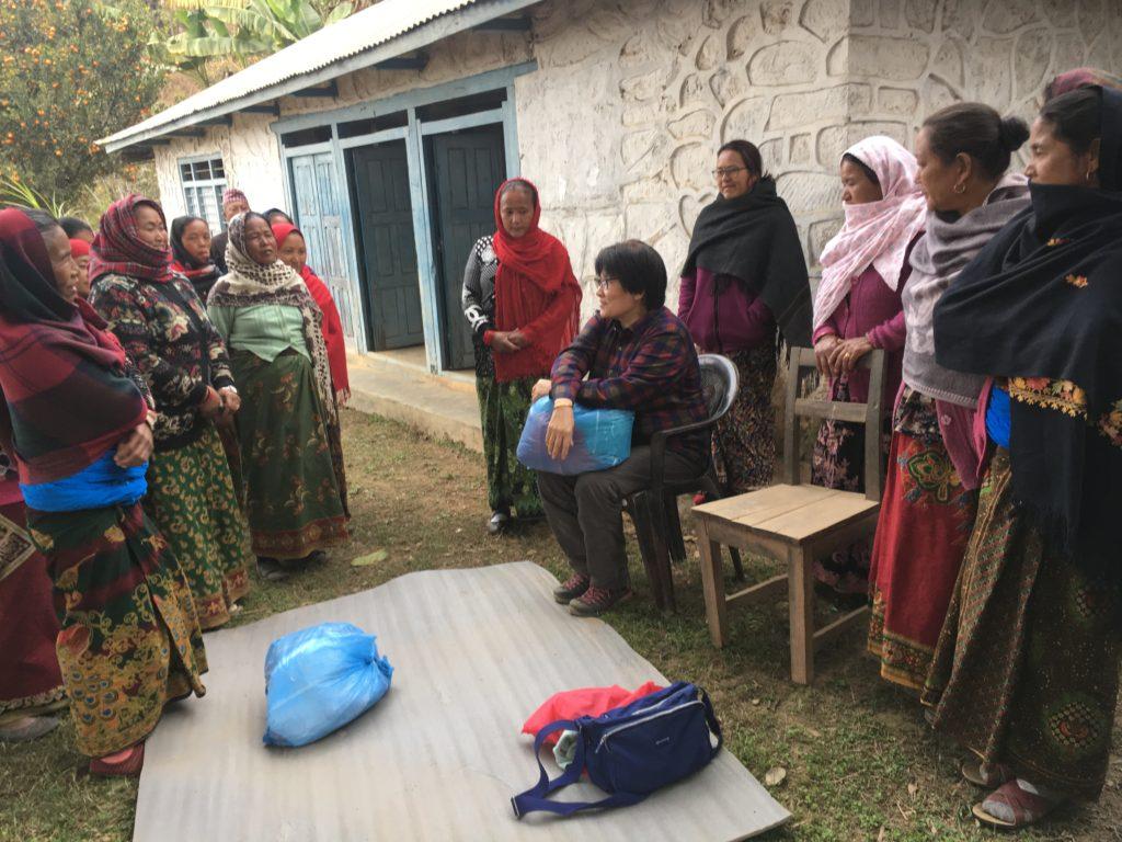 ネパール_訓練の様子①