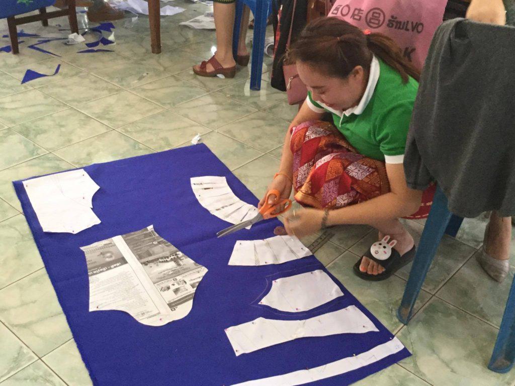 縫製コースの学生