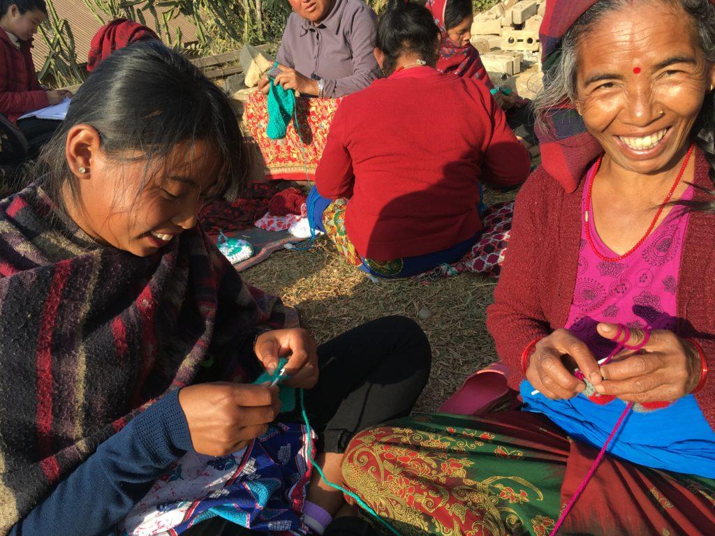 手刺繍訓練