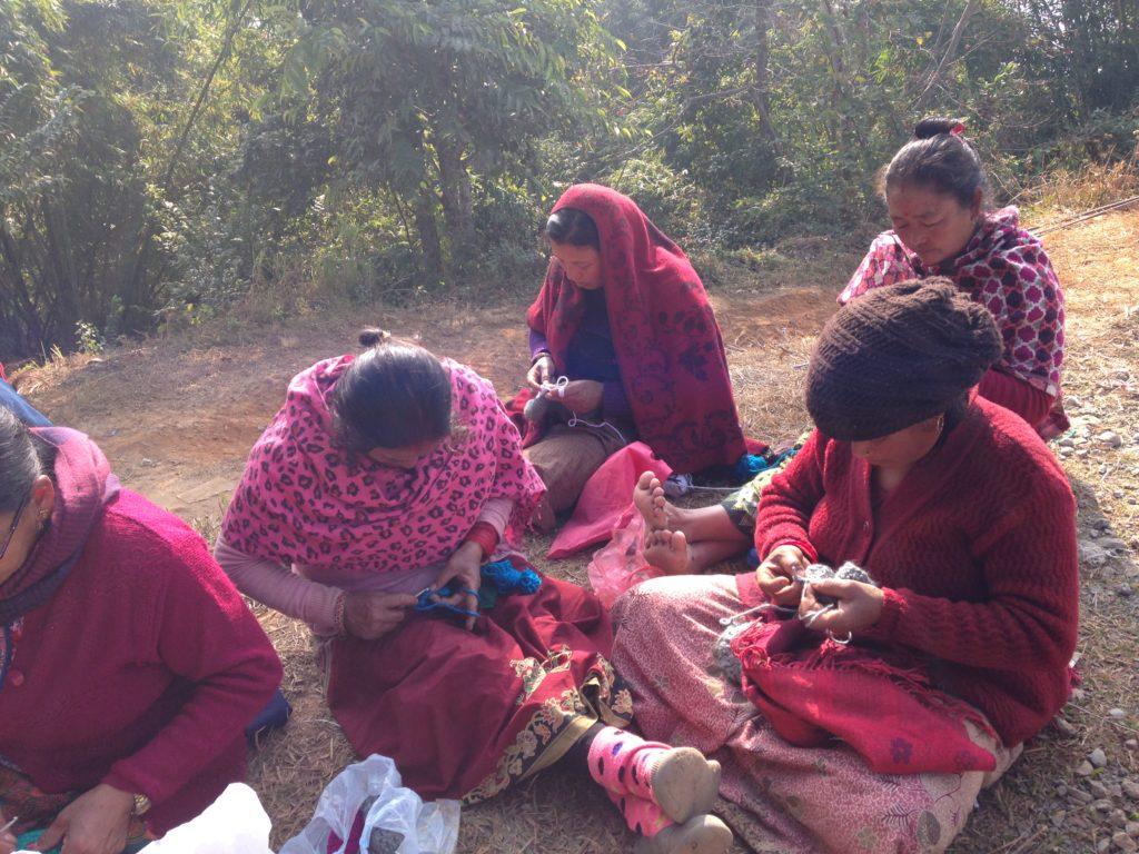 ネパールでの職業訓練