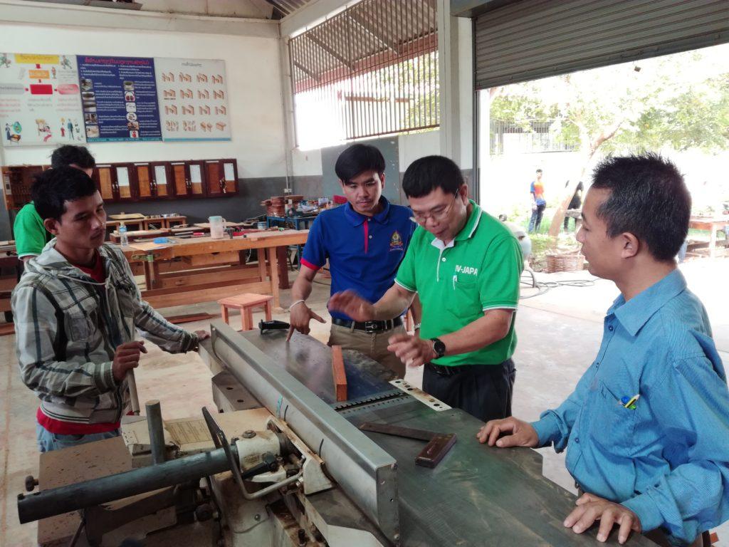 木工機械整備指導